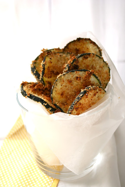 zucchini chips by the boot blog