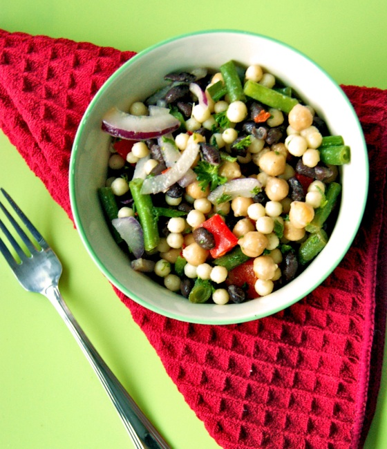 three bean salad by the fresh direction