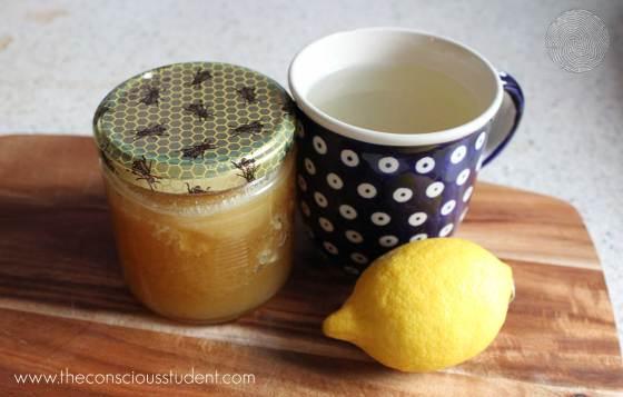 lemon and honey flu remedy