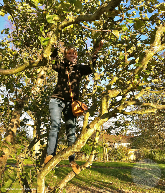 Kasia-apple-picking