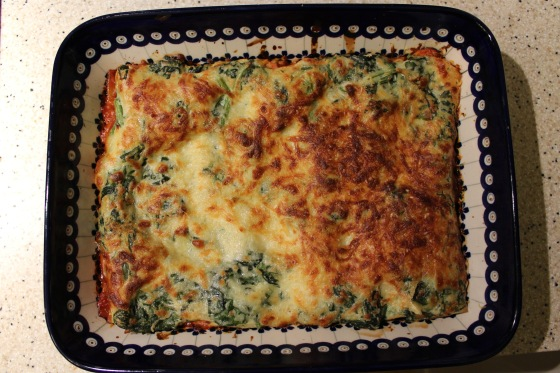 veggie-lasagne