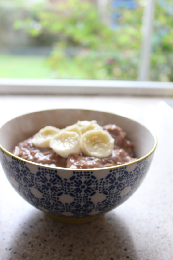 chocolate_banana_ porridge
